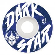 Ruote Darkstar: Chalk White (51 mm)