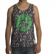 Mitchell & Ness Canotta Mitchell & Ness: NBA Reversible Mesh Tank Boston Celtics GR/WH