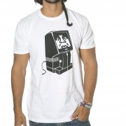 T-Shirt Obey: Unplugged WH