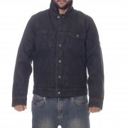 Giacca Volcom: Macback Denim Jacket BK