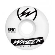 Wreck  Ruote Wreck: Square Cut White (51 mm)