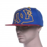 Cappello DC Shoes: Ya Heard PRM BL/RD/YL