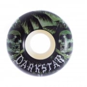 Ruote Darkstar: Helm Green/White (51 mm)