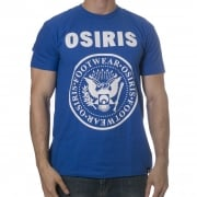 T-Shirt Osiris: Mens Tees Bowery Royal Blue BL