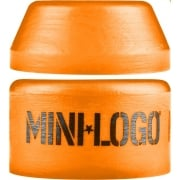 Mini Logo Skateboards Bushings Mini-Logo: Medium Orange
