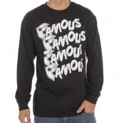 T-Shirt maniche lunghe Famous Stars And Straps: Famous Strummer BK