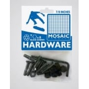 "Viti Mosaic: Mounting Bolts Black Pack 7/8"" Allen"