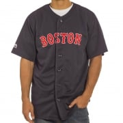 Camicia Majestic: MLB Replica Jersey Boston NV