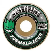 Ruote Spitfire: F4 101 Conical Green Print (52 mm)