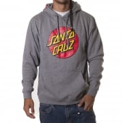 Felpa Santa Cruz: Hood Classic Dot Dark Heather GR