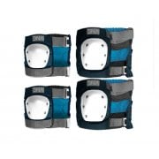 Set Protezioni DNA: Navy Knee & Elbow Pack NV
