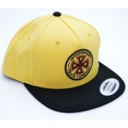 Cappello Independent: OGTC Snapback Banana Cream YL/BK