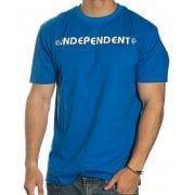 T-Shirt Independent: Bar Cross Royal BL