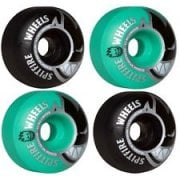 Ruote Spitfire: Bighead Classic Mashup Black/Teal (54 mm)