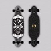 Complete Longboard Hydroponic: Kids Drop-Through PIRATE BK (Carving)31.5 x 8.5