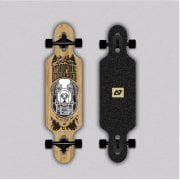 Complete Longboard Hydroponic: Kids Drop-Through BERNI (Carving)31.5 x 8.25