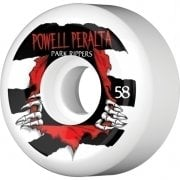 Ruote Powell Peralta: Park Ripper White (58mm)