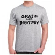 T-Shirt Thrasher: Skate and Destroy GR