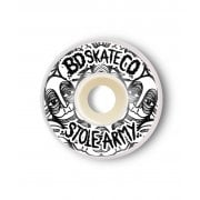 Ruote BDSkateCO: Stole Army White (53 mm)