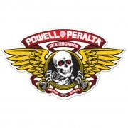 Adesivo Powell Peralta: Winged Ripper Red