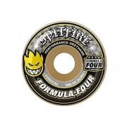 Ruote Spitfire: F4 99 Conical Yellow Print (54 mm)