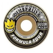 Ruote Spitfire: F4 99 Conical Yellow Print (53 mm)