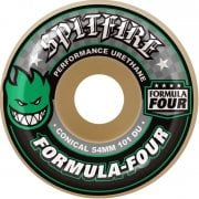 Ruote Spitfire: F4 101A Conical Green Print (52 mm)