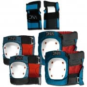 Set Protezioni DNA: Blue Knee & Elbow KIDS Pack BL
