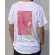 T-Shirt Imagine Skateboards: Skull Pink WH