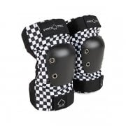Gomitiere Pro-Tec: Junior Elbow Pad Checker BK/WH