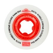 Ruote Ricta: Chrome Clouds Red (54mm) 86A