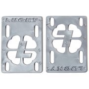 "Riserpads Lucky: Risers 1/8"" Silver"