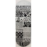Tavole Fingerboard  BerlinWood: X-Wide BR En Voyage Mini Pattern 33.3mm