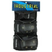 Set Protezioni Industrial: Pad Set 3 in 1 Black