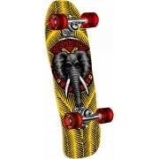 Skate Complete Powell Peralta: Mini Mike Vallely Elephant Yellow 7.75