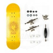 Complete Fingerboard Bollie: Mini Logo Yellow Set 30.5mm