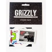 Adesivi Grizzly: Seasonal Sticker Pack